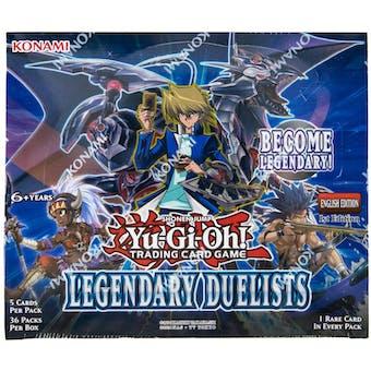 Yu-Gi-Oh Legendary Duelists Booster Box