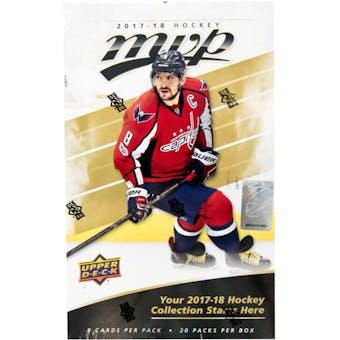 2017/18 Upper Deck MVP Hockey Hobby Box