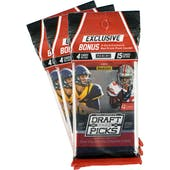 2016 Panini Prizm Collegiate Draft Picks Football Super Pack (Lot of 3)