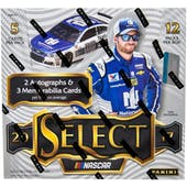 2017 Panini Select Racing Hobby Box