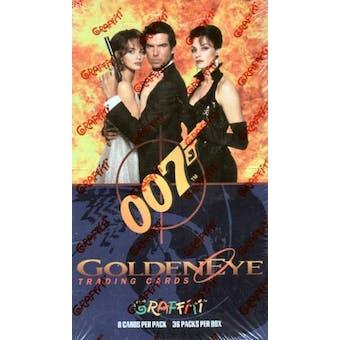 James Bond GoldenEye Hobby Box (1995 Graffiti) (Reed Buy)