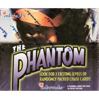 Phantom The Movie Hobby Box (1996 Inkworks) (Reed Buy)