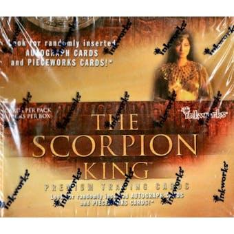 Scorpion King Hobby Box (2002 Inkworks)