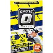 2017 Panini Donruss Optic Baseball Hobby Box