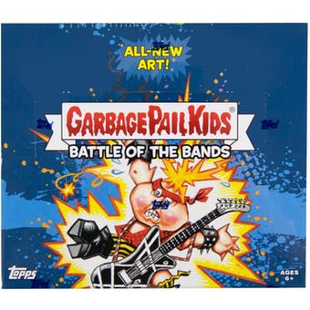 Garbage Pail Kids Series 2 Battle of the Bands Hobby Box (Topps 2017)