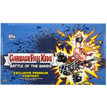 Garbage Pail Kids Series 2 Battle of the Bands Hobby Collector's Edition Box (Topps 2017)