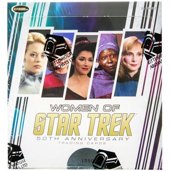 The Women of Star Trek 50th Anniversary Trading Cards Box (Rittenhouse 2017)