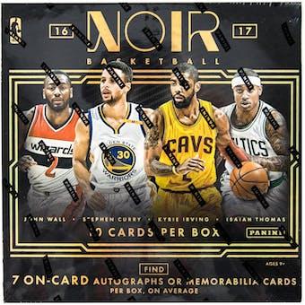 2016/17 Panini Noir Basketball Hobby Box
