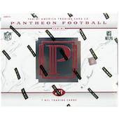 2017 Panini Pantheon Football Hobby Box