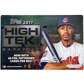 2017 Topps High Tek Baseball Hobby Box