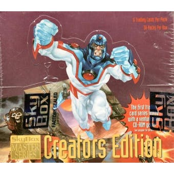 Creators Master Series Hobby Box (1995 Skybox)