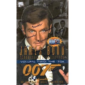 James Bond Connoisseur's Collection Series 2 Hobby Box (1996 Inkworks)