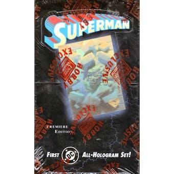 Superman Holo Series Hobby Box (1996 Fleer/Skybox)
