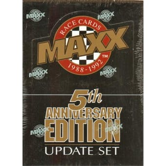 1992 J.R. Maxx Inc. Maxx 5th Anniversary Update Racing Hobby Box