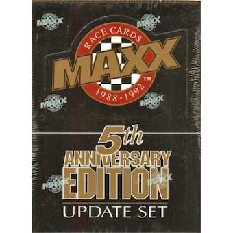 1992 J.R. Maxx Inc. Maxx 5th Anniversary Update Racing Hobby Box