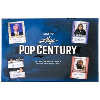 2017 Leaf Pop Century Hobby Box