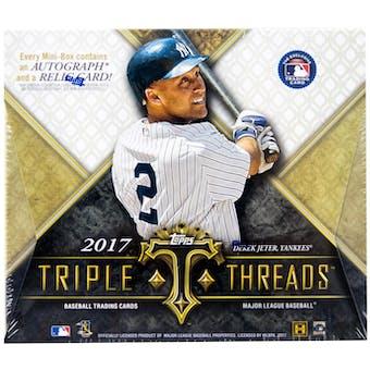 2017 Topps Triple Threads Baseball Hobby Box