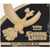 Pokemon Shining Legends Elite Trainer (Small Holes in Shrink)