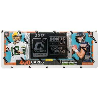 2017 Panini Donruss Football Factory Set (Box)