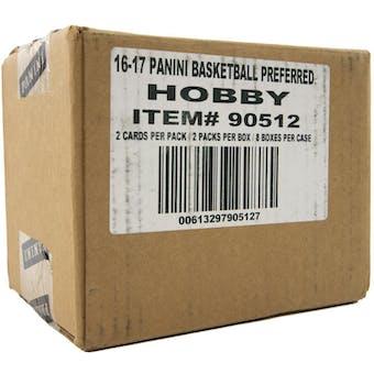 2016/17 Panini Preferred Basketball Hobby 8-Box Case
