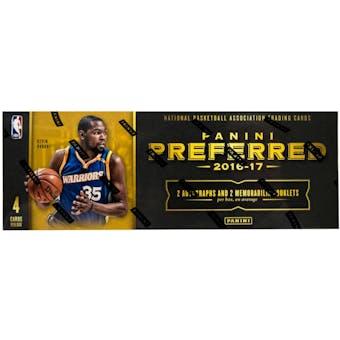 2016/17 Panini Preferred Basketball 4-Box- DACW Live 6 Spot Random Division Break #1