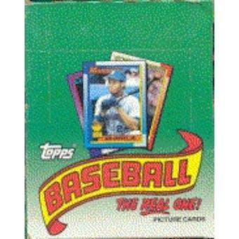 1990 Topps Baseball Rack Box