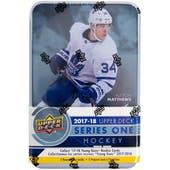 2017/18 Upper Deck Series 1 Hockey Tin (Box)