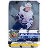 2017/18 Upper Deck Series 1 Hockey Tin (Box)