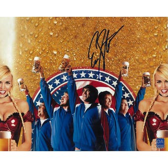 Erik Stolhanske Autographed Beerfest Cheers 8x10 Photo