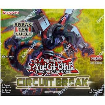 Yu-Gi-Oh Circuit Break Booster Box