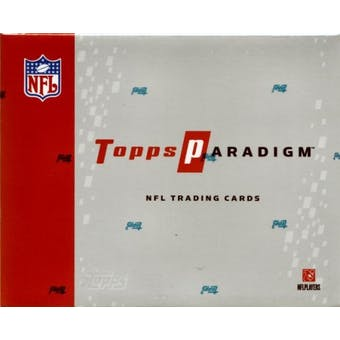 2006 Topps Paradigm Football Hobby Box