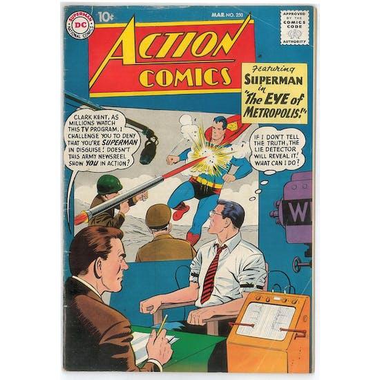 Action Comics #250 VG/FN