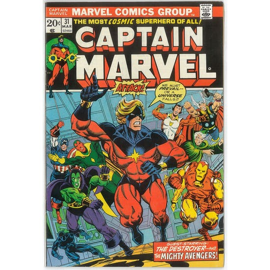 Captain Marvel #31 NM-