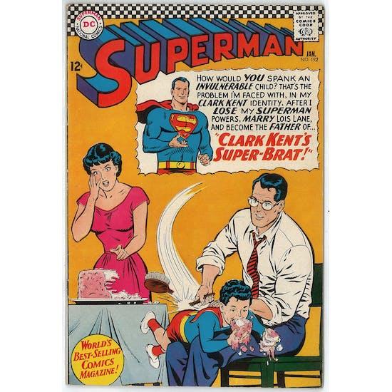 Superman #192 VF