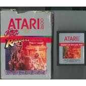 Atari 2600 Raiders of the Lost Ark Boxed AVGN Red Autographed Box