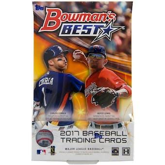 2017 Bowman's Best Baseball Hobby Box