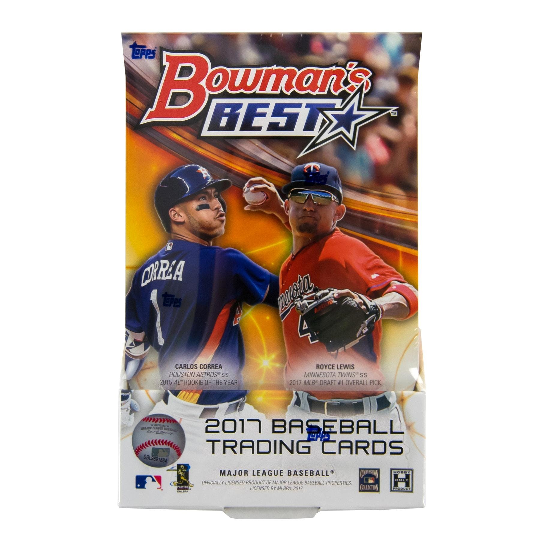 2020 Bowmans Best 2017 Bowman's Best Baseball Hobby Box | DA Card World