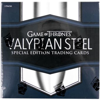Game Of Thrones Valyrian Steel Trading Cards Box (Rittenhouse 2017)