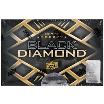 2018/19 Upper Deck Black Diamond Hockey 5-Box Case- DACW Live 31 Spot Random Team Break #5