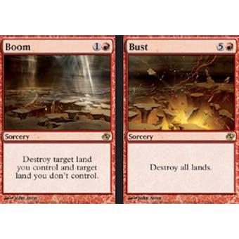 Magic the Gathering Planar Chaos Single Boom // Bust Foil - NEAR MINT (NM)