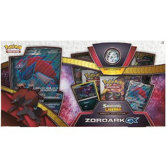 Pokemon Shining Legends Zoroark GX Collection Box