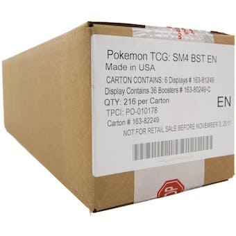Pokemon Sun & Moon: Crimson Invasion Booster 6-Box Case