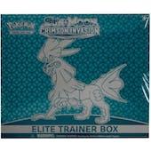 Pokemon Sun & Moon: Crimson Invasion Elite Trainer Box