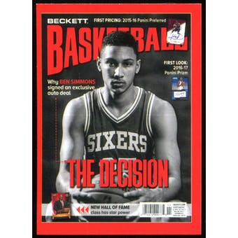 2017 Beckett National Sports Collectors Convention Ben Simmons Rookie Promo Card /1500