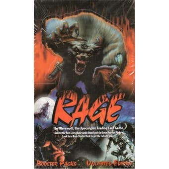 Rage: The Werewolf: The Apocalypse Limited Booster Box