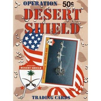 Operation Desert Shield Wax Box (1991 Pacific)