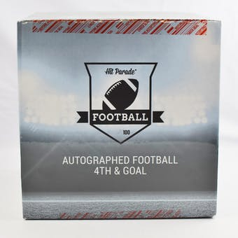 2019 Hit Parade Autographed Football 4th & GOAL Hobby Box - Series 4 - Peyton Manning & Aaron Rodgers!