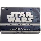 Star Wars High Tek Hobby Box (Topps 2017)
