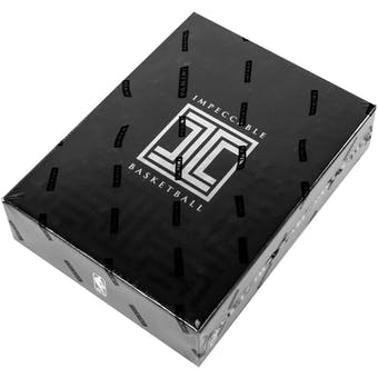 2016/17 Panini Impeccable Basketball Hobby Box