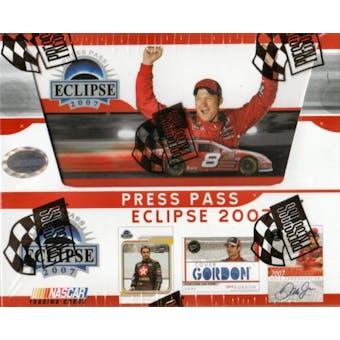 2007 Press Pass Eclipse Racing Hobby Box